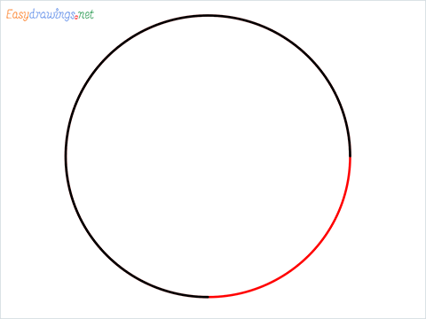 How to Draw a Circle step (4)