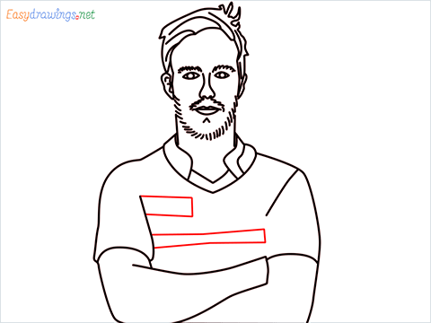 How to draw A B de Villiers step (13)