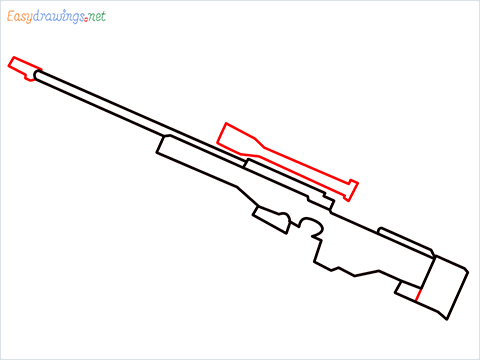 How to draw AWM step (5)
