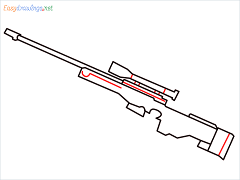 How to draw AWM step (6)