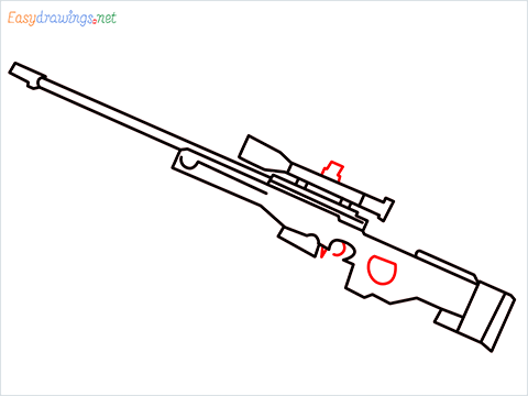 How to draw AWM step (7)