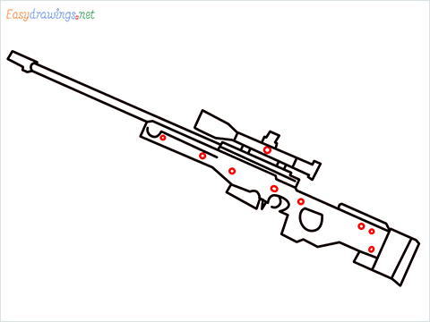 How to draw AWM step (8)