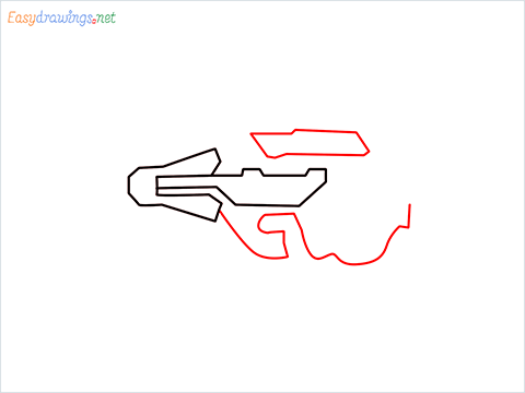 How to draw CG15 step (3)