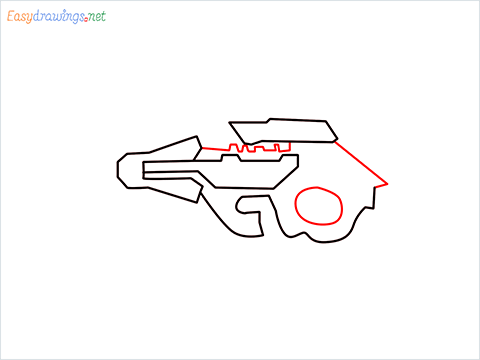 How to draw CG15 step (4)