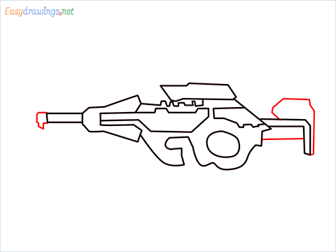 How to draw CG15 step (6)