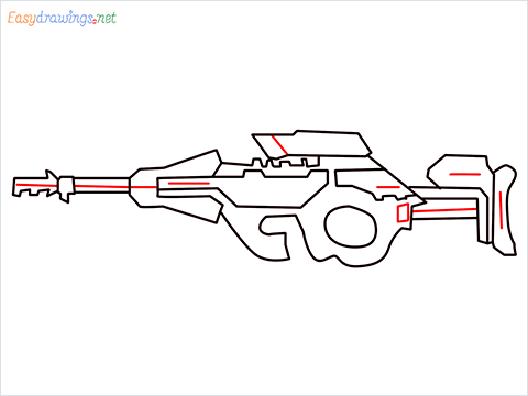 How to draw CG15 step (8)