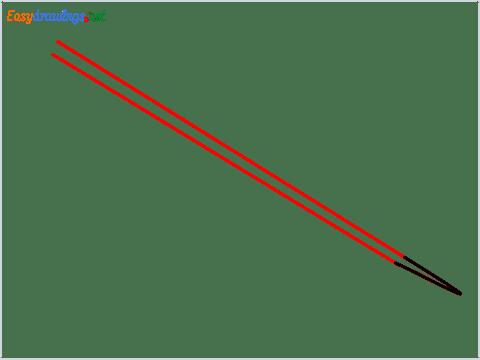 How to draw Chopsticks step (2)