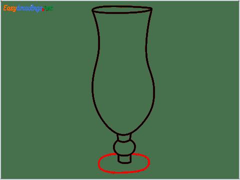 How to draw Hurricane glass step (6)