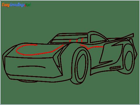 How to draw Jackson storm step (10)