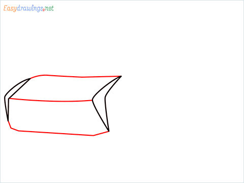 How to draw Jackson storm step (2)