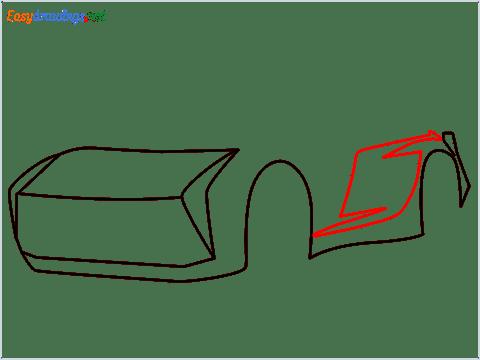 How to draw Jackson storm step (4)
