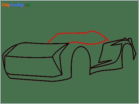 How to draw Jackson storm step (5)
