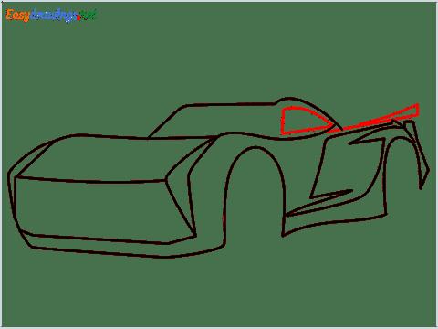 How to draw Jackson storm step (6)