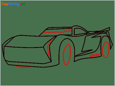 How to draw Jackson storm step (8)