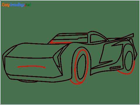 How to draw Jackson storm step (9)