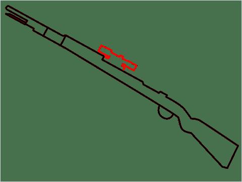 How to draw KAR98K sniper step (4)
