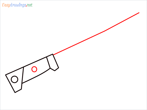 How to draw MACHETE step (4)