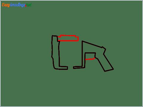 How to draw MGL140 Gun step (3)