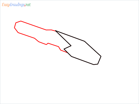 How to draw RGS50 Gun step (2)