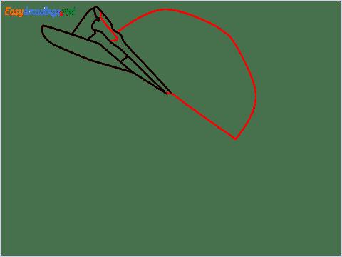 How to draw Virat Kohli step (4)