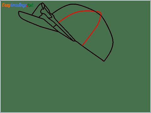 How to draw Virat Kohli step (5)