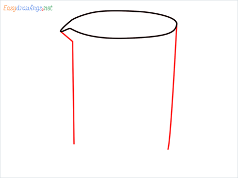 How to draw a Beaker step (3)