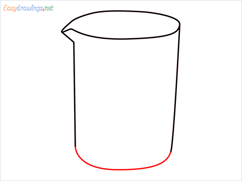How to draw a Beaker step (4)