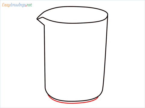 How to draw a Beaker step (5)