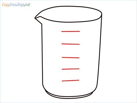 How to draw a Beaker step (6)