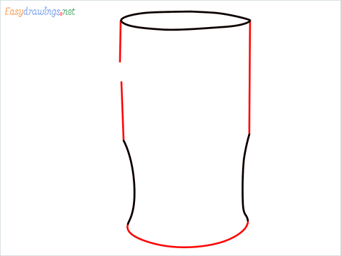 How to draw a Beer mug step (3)