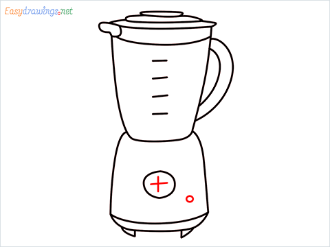 How to draw a Blender step (10)