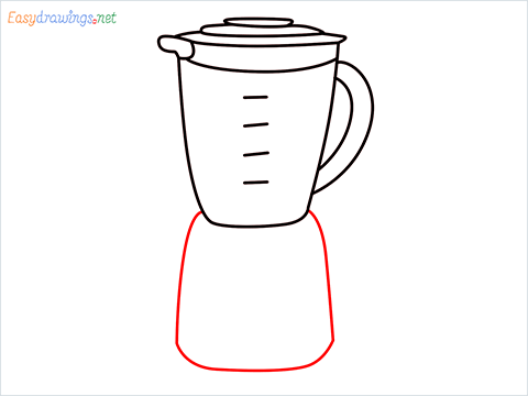 How to draw a Blender step (7)
