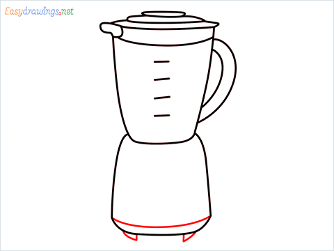 How to draw a Blender step (8)