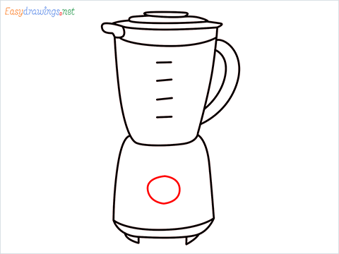 How to draw a Blender step (9)