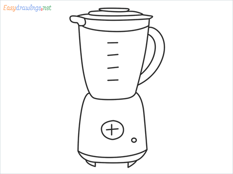 How to draw a Blender step by step for beginners