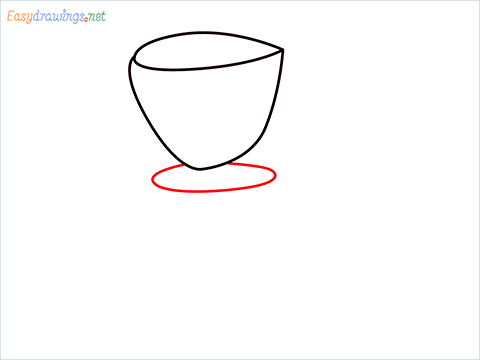 How to draw a Coffee maker step (3)