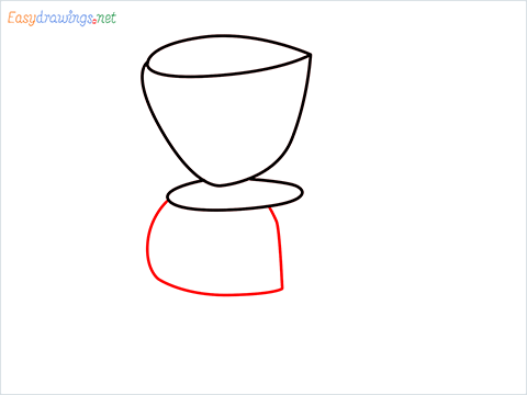 How to draw a Coffee maker step (4)