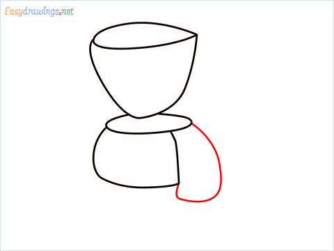 How to draw a Coffee maker step (5)
