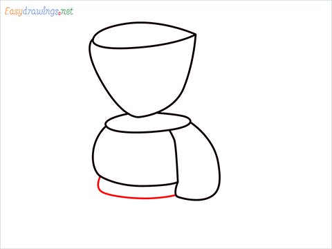 How to draw a Coffee maker step (6)