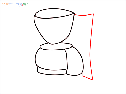 How to draw a Coffee maker step (7)