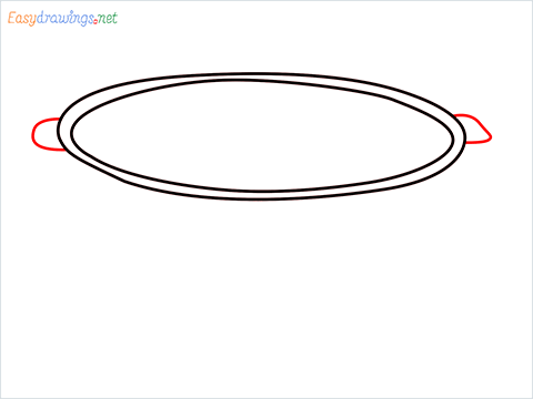 How to draw a Colander step (3)