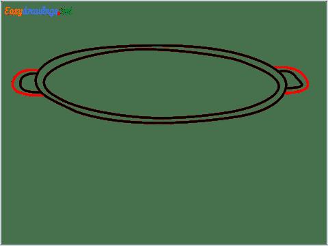 How to draw a Colander step (4)