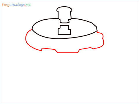 How to draw a Cooker step (4)