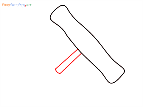 How to draw a Corkscrew step (3)