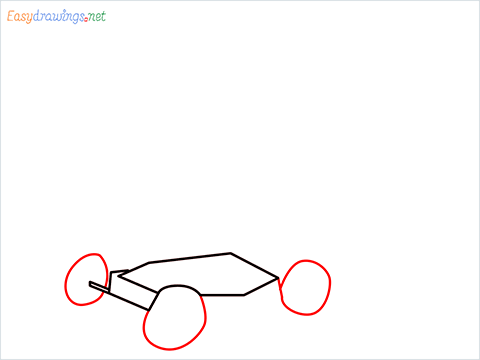 How to draw a Lawn Mower step (3)