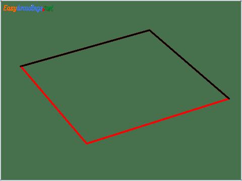 How to draw a Napkin step (2)