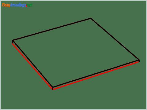 How to draw a Napkin step (4)