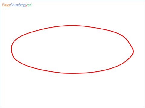 How to draw a Pie plate step (1)