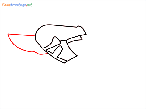 How to draw a Pruners pruning shears step (4)