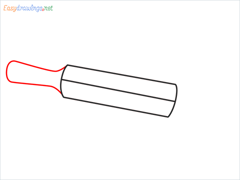 How to draw a Roller appliance step (4)